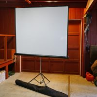 Da-Lite 70 Inch Matte White Projection Screen