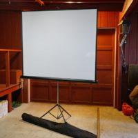 Da-Lite 70 Inch Matte White Projection Screen